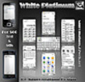 Symbian S60 Theme: White Platinum