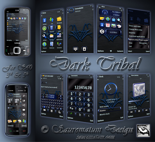 Product picture Dark Tribal Theme